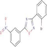 3-(2-Bromophenyl)-5-(3-nitrophenyl)-1,2,4-oxadiazole