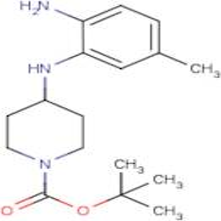 4-[(2-Amino-5-methylphenyl)amino]piperidine, N1-BOC protected