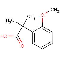 2-(2-Methoxyphenyl)-2-methylpropanoic acid
