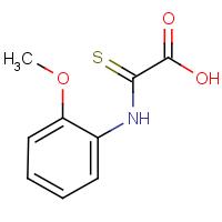 [(2-Methoxyphenyl)amino](thioxo)acetic acid