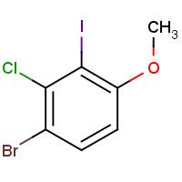 4-Bromo-3-chloro-2-iodoanisole