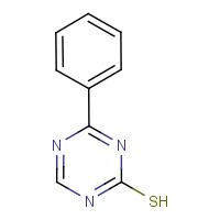 4-Phenyl-1,3,5-triazine-2-thiol