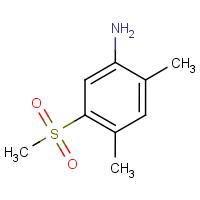 2,4-Dimethyl-5-(methylsulphonyl)aniline