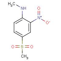 N-Methyl-4-(methylsulphonyl)-2-nitroaniline