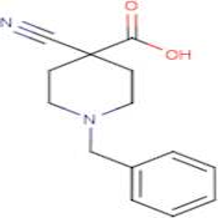 1-Benzyl-4-cyanopiperidine-4-carboxylic acid