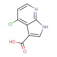 4-Chloro-1H-pyrrolo[2,3-b]pyridine-3-carboxylic acid