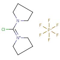 1-(Chloro-1-pyrrolidinylmethylene)pyrrolidinium hexafluorophosphate