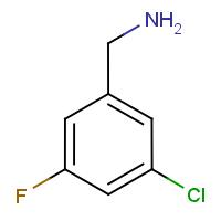 3-Chloro-5-fluorobenzylamine