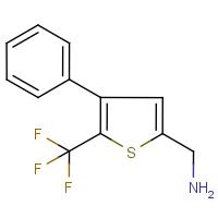 2-Aminomethyl-4-phenyl-5-(trifluoromethyl)thiophene