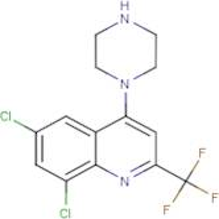 1-[6,8-Dichloro-2-(trifluoromethyl)quinol-4yl]piperazine