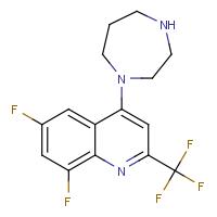 1-[6,8-Difluoro-2-(trifluoromethyl)quinol-4-yl]homopiperazine