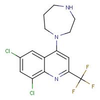 1-[6,8-Dichloro-2-(trifluoromethyl)quinol-4-yl]homopiperazine