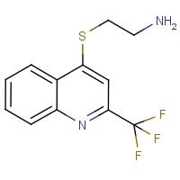 4-[(2-Aminoethyl)thio]-2-(trifluoromethyl)quinoline