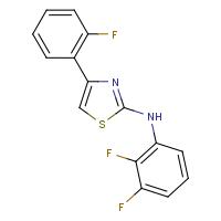 2-(2,3-Difluorophenyl)amino-4-(2-fluorophenyl)thiazole