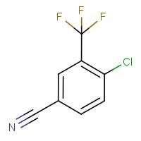 4-Chloro-3-(trifluoromethyl)benzonitrile
