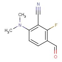 6-(Dimethylamino)-2-fluoro-3-formylbenzonitrile