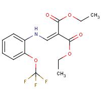 Diethyl 2-{[2-(trifluoromethoxy)phenylamino]methylidene}malonate