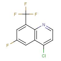 4-Chloro-6-fluoro-8-(trifluoromethyl)quinoline