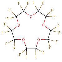 Perfluoro-1,4,7,10,13-pentaoxacyclopentadecane