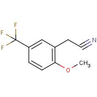 2-Methoxy-5-(trifluoromethyl)phenylacetonitrile