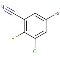 5-Bromo-3-chloro-2-fluorobenzonitrile