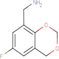 (6-Fluoro-4H-1,3-benzodioxin-8-yl)methylamine