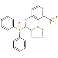 N1-[(Diphenylphosphoryl)(thien-2-yl)methyl]-3-(trifluoromethyl)aniline