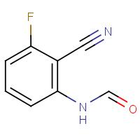 N-(2-Cyano-3-fluorophenyl)formamide