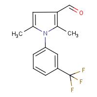 2,5-dimethyl-1-[3-(trifluoromethyl)phenyl]-1H-pyrrole-3-carboxaldehyde