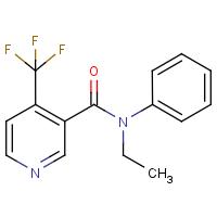 N-ethyl-N-phenyl-4-(trifluoromethyl)nicotinamide