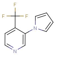 3-(1H-Pyrrol-1-yl)-4-(trifluoromethyl)pyridine