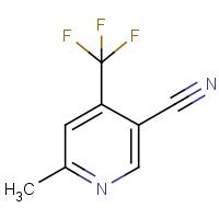 6-Methyl-4-(trifluoromethyl)nicotinonitrile