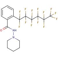 N-piperidino-2-(1,1,2,2,3,3,4,4,5,5,6,6,6-tridecafluorohexyl)benzamide