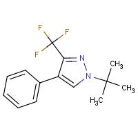 1-(tert-Butyl)-4-phenyl-3-(trifluoromethyl)-1H-pyrazole