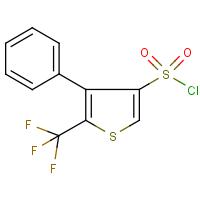 4-Phenyl-5-(trifluoromethyl)thiophene-3-sulphonyl chloride