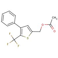 [4-phenyl-5-(trifluoromethyl)-2-thienyl]methyl acetate