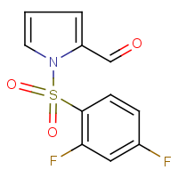 1-[(2,4-difluorophenyl)sulphonyl]-1H-pyrrole-2-carboxaldehyde