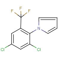 1-[2,4-dichloro-6-(trifluoromethyl)phenyl]-1H-pyrrole