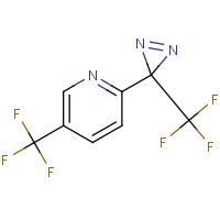5-(Trifluoromethyl)-2-(3-(trifluoromethyl)-3H-diazirin-3-yl)pyridine