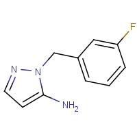 1-(3-Fluorobenzyl)-1H-pyrazol-5-amine