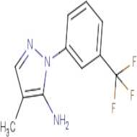 4-Methyl-1-[3-(trifluoromethyl)phenyl]-1H-pyrazol-5-amine
