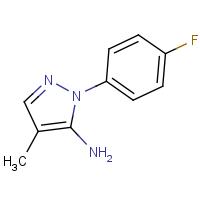 1-(4-Fluorophenyl)-4-methyl-1H-pyrazol-5-amine