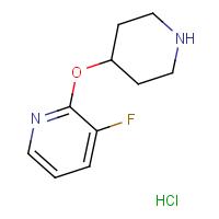 3-Fluoro-2-(piperidin-4-yloxy)pyridine hydrochloride