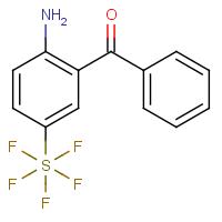 2-Amino-5-(pentafluorosulfanyl)phenyl phenyl ketone