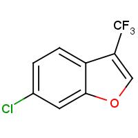 6-Chloro-3-(trifluoromethyl)benzofuran