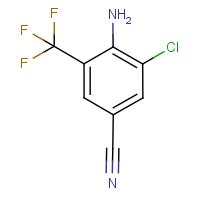 2-Amino-3-chloro-5-cyanobenzotrifluoride