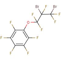 (2,3-Dibromopentafluoropropoxy)pentafluorobenzene