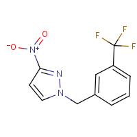 3-Nitro-1-[3-(trifluoromethyl)benzyl]-1H-pyrazole
