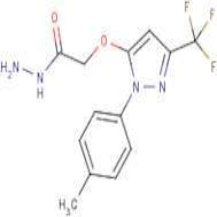 2-{[1-(4-Methylphenyl)-3-(trifluoromethyl)-1H-pyrazol-5-yl]oxy}acetohydrazide