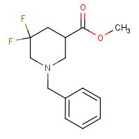 Methyl 1-benzyl-5,5-difluoropiperidine-3-carboxylate